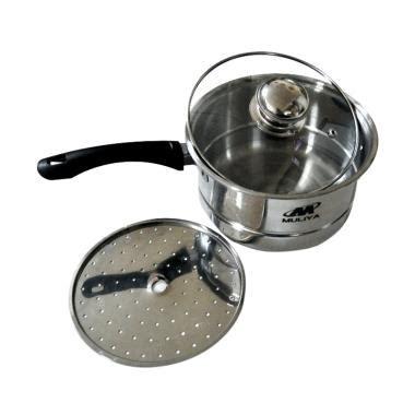 Panci Kukus Maspion 2 Susun panci kaca terbaru di kategori peralatan memasak