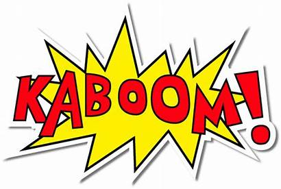 Kaboom Clipart Clip Cartoon Marvel Boom Dc