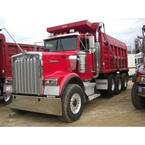 Dump Truck by Kenworth W900 Dump Trucks