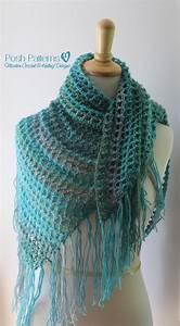 Crochet Triangle Scarf Pattern
