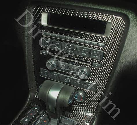ford mustang real carbon fiber dash trim kit