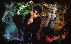Green Day Wallpaper Color by Santonator on DeviantArt