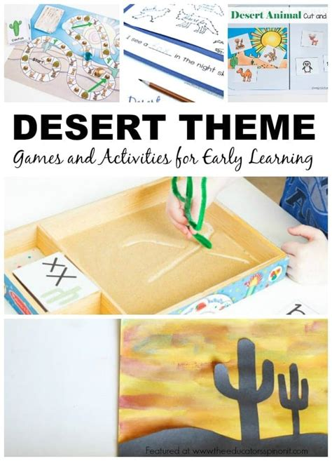 desert animal writing prompt for children 602 | Desert Theme Games and Activities for Early Learning