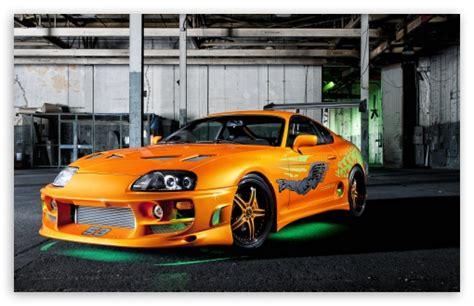 Toyota 4k Wallpapers by Orange Toyota Supra Neon 4k Hd Desktop Wallpaper For 4k