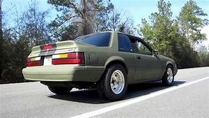 Burnout: 1988 Mustang LX 5.0 (Fox Project Car) - YouTube