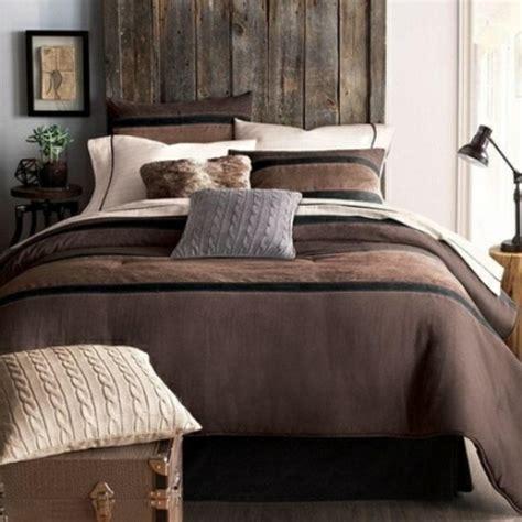 chambre marron beige décoration chambre adulte de style chalet 22 idées
