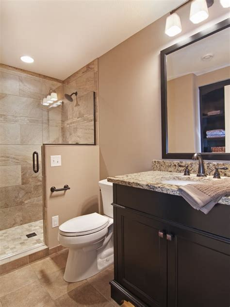 accessible basement bathroom ideas with and less