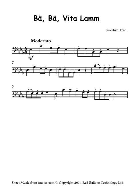 Trombone sheet music, happy birthday to you. Free Trombone Sheet Music, Lessons & Resources - 8notes.com