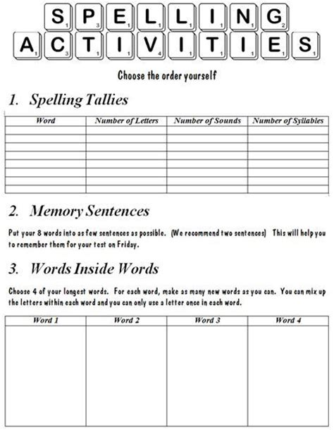 372 Best Images About Teaching Spellingword Work On Pinterest