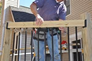 decks com deck railing balusters