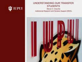 steve graunke presents iupui transfer students symposium