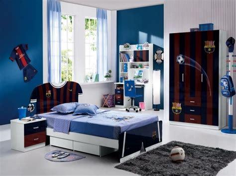 tapis pour chambre ado gar輟n idée chambre ado bleu