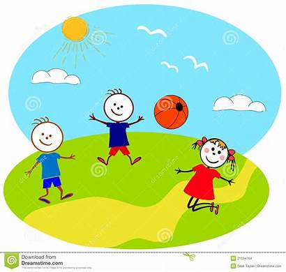 Outside Playing Clipart Children Play Clip Boy