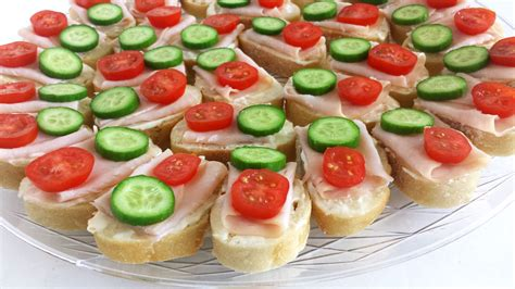 m canapes smoked turkey canapes valya 39 s taste of home