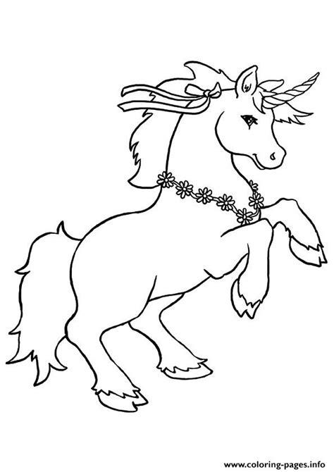 disegni da colorare degli unicorni  fiori blogmamma