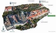 prague castle map | Prague castle, Castle, Prague