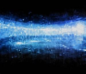 Vector geometric tech background Vector creative