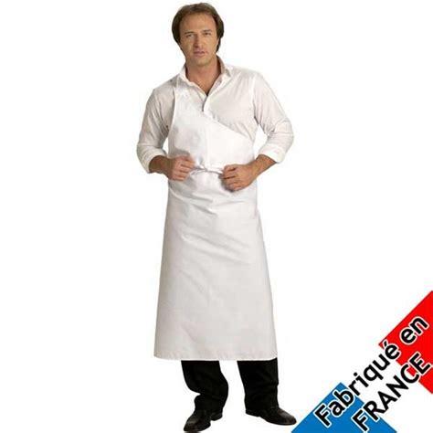 vetements cuisine tablier de boucher parisien vêtements de boucher