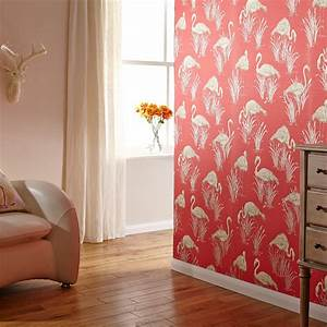 Arthouse Vintage Lagoon Traditional Oriental Flamingo ...