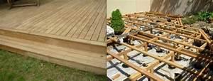 comment faire soi meme sa terrasse en bois With faire sa terrasse en bois