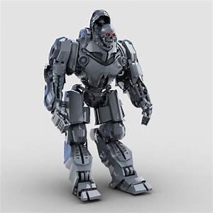 Skull Robot 3D Model – Buy Skull Robot 3D Model | FlatPyramid