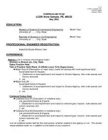 Mcitp Resume Format For Experience by Engineering Cv Format Engineering Resume Business Sheet