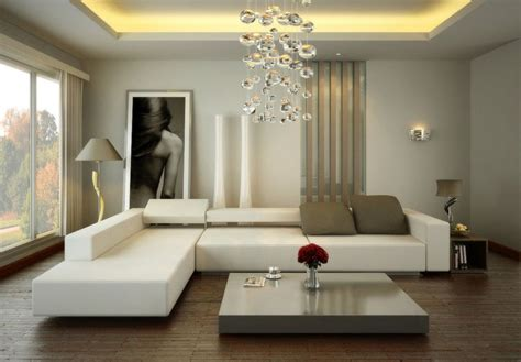 Elegant Small Living Room Design Ideas With L Shape White