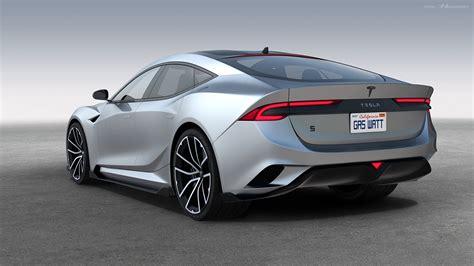 Tesla Model S News by Next Tesla Model S Rendered In Striking Form