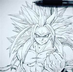 Super Saiyan 5 Goku drawing | DragonBallZ Amino