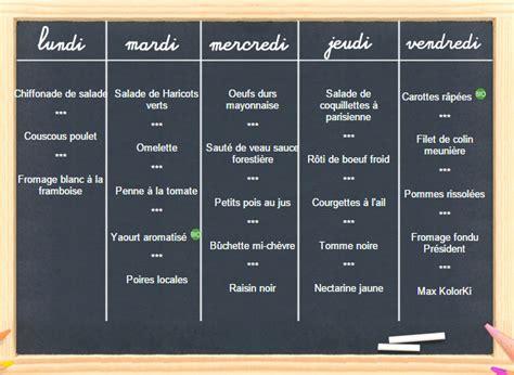 menu semaine cuisine az la cantine peep 39 raspail rosny
