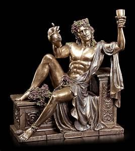 Dionysos Figur Griechischer Gott des Weines ruht