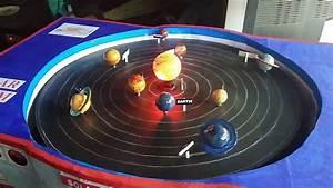 Solar System - School Project  Model