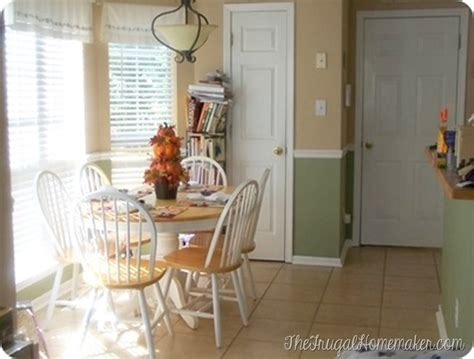 Kitchen Colors With Chair Rail by Paint Colors In Our Home