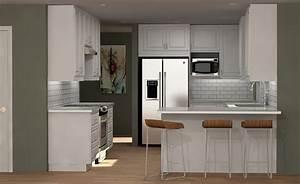 three ikea kitchen cabinet designs under 6000 1853