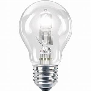 Philips halogen ecoclassic w es clear bulb bunnings