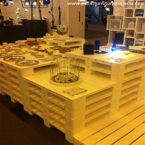 Pallet Islands / Buffet Tables For Your Kitchen   Pallet