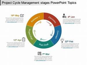 96550223 Style Circular Loop 5 Piece Powerpoint