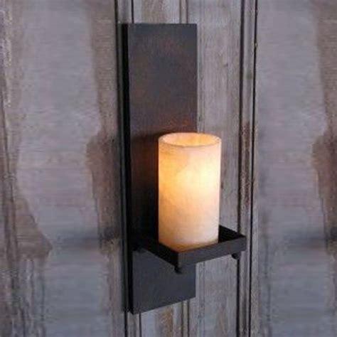 outdoor candle wall decor glass hurricane pillar candle