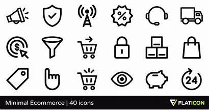 Minimal Ecommerce Icons Psd Flaticon Packs