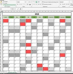 Vacances Aout 2018 : calendrier 2018 excel modifiable et gratuit excel ~ Medecine-chirurgie-esthetiques.com Avis de Voitures