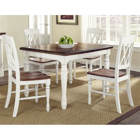 green kitchen table monarch white oak 5 dining set 1443
