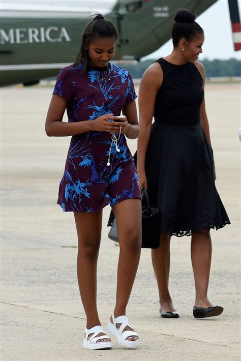 Sasha Obama Turns 17 A Look At Her Best Shoe Style Over