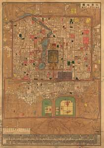 Beijing Old City Map