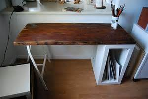 Cool Ceiling by 5 Diy Reclaimed Wood Desks For Your Home Office Shelterness