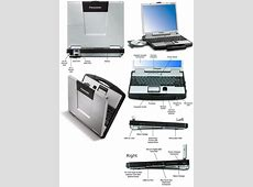 Panasonic Toughbook 74 TB74 CF74 Small Laptops and