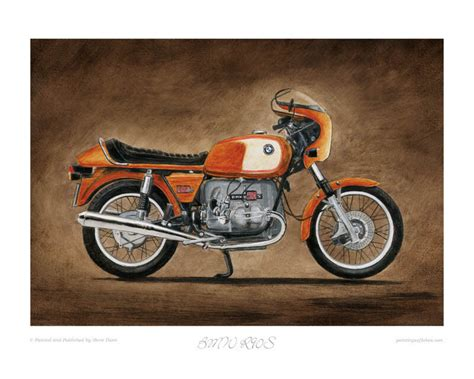 Motorcycle Limited Edition Print