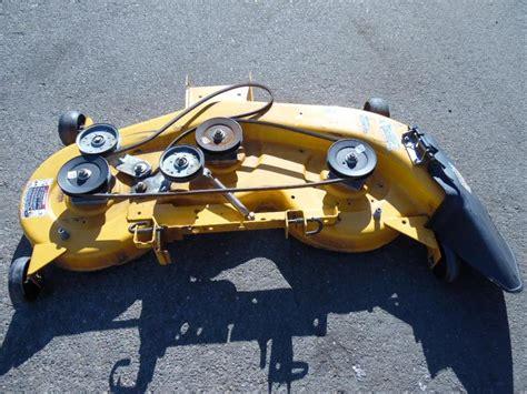 cub cadet lt1045 lawn tractor 46 quot mower deck 983 04172 0716 ebay