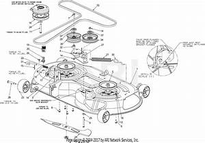 Troy Bilt 17adcact066 Mustang Xp 46  2016  Parts Diagram