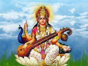 Download Maa Saraswati Wallpapes in HD