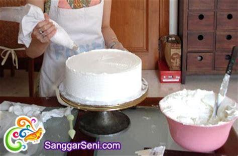 sanggar seni indonesia belajar menghias kue